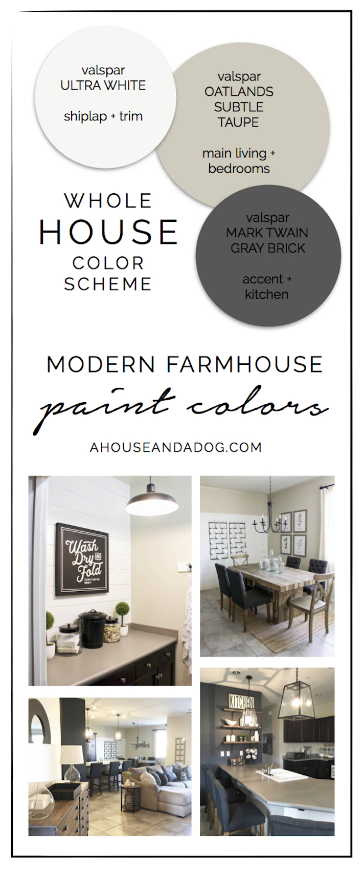 Whole house color scheme paint colors hello allison - Whole house interior paint palette ...