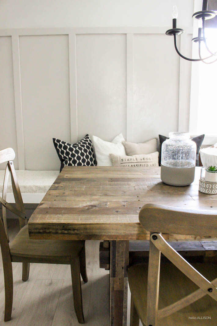 DIY Board and Batten Dining Room